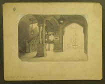 Image of Staircase in Main Building, Smith College - Vanderhof, C.A.